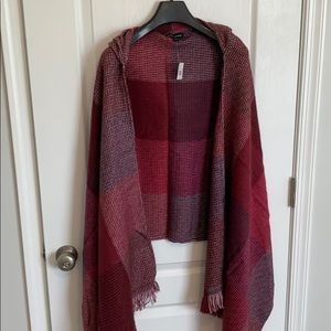 NWT SAKS FIFTH AVENUE Hooded Scarf